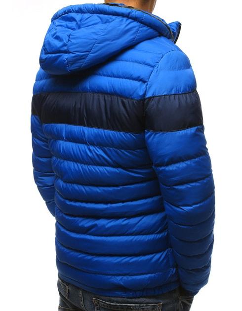 Siiuomo.it - Giubbotto invernale sportivo da uomo con cappuccio colore blu  - Dstreet - Giubbotti invernali - Giubbotti b48c14c296b