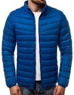 Disponibile Giacca blu da uomo nel stile classico OZONEE JS LY07 ... a04339ca467