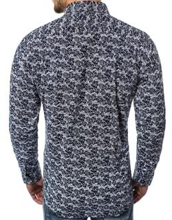 nel design camicia Trendy it da Siiuomo uomo di blu tendenza BFxw0n4YW