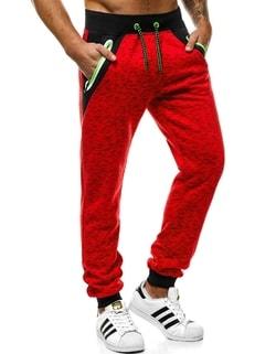Disponibile Pantaloni di tuta da uomo colore rosso OZONEE JS 55038 ... 8e078f0a9bf