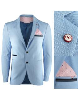 Disponibile Giacca elegante da uomo colore azzurro e40ee4d3914