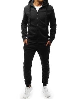 -34% Disponibile Set di tuta da uomo colore nero nel stile classico sportivo  ... c25d3d4cf74