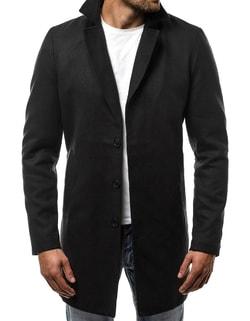 Disponibile Cappotto nero elegante da uomo OZONEE N 5438 ... 9f4efd457d2
