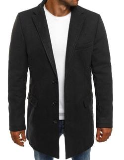 -50% Disponibile Cappotto elegante nero da uomo ... 91cfe194c2c
