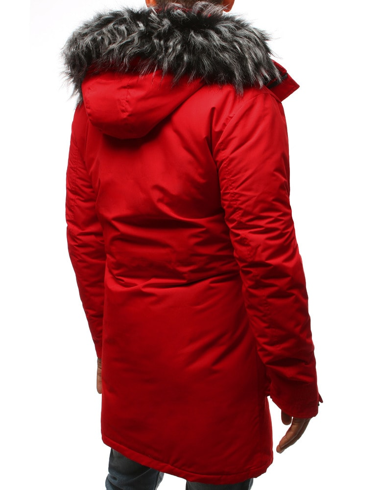 colore it rosso Dstreet Siiuomo lunga Giacca invernale uomo nZqwWTRg 5ef58d996d8