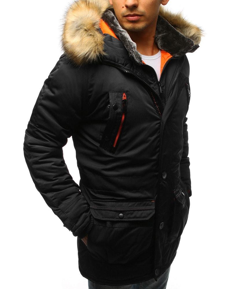 info for 04b7d 6a98c Giacca uomo invernale nel colore classico nero
