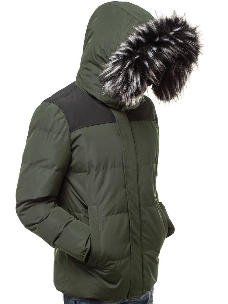 Siiuomo.it - Giacca uomo invernale di stile colore verde OZONEE JS ... 6e86be7c3c2