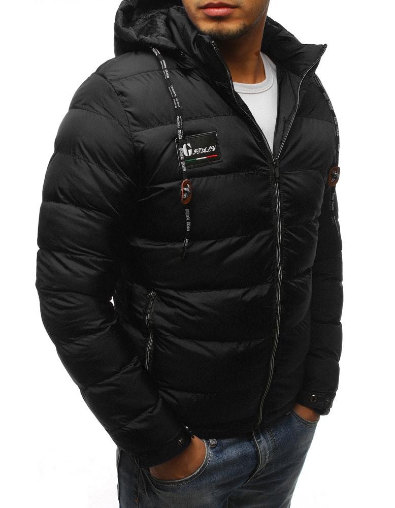 timeless design f0f8c 8ede4 Giacca invernale sportiva da uomo colore nero