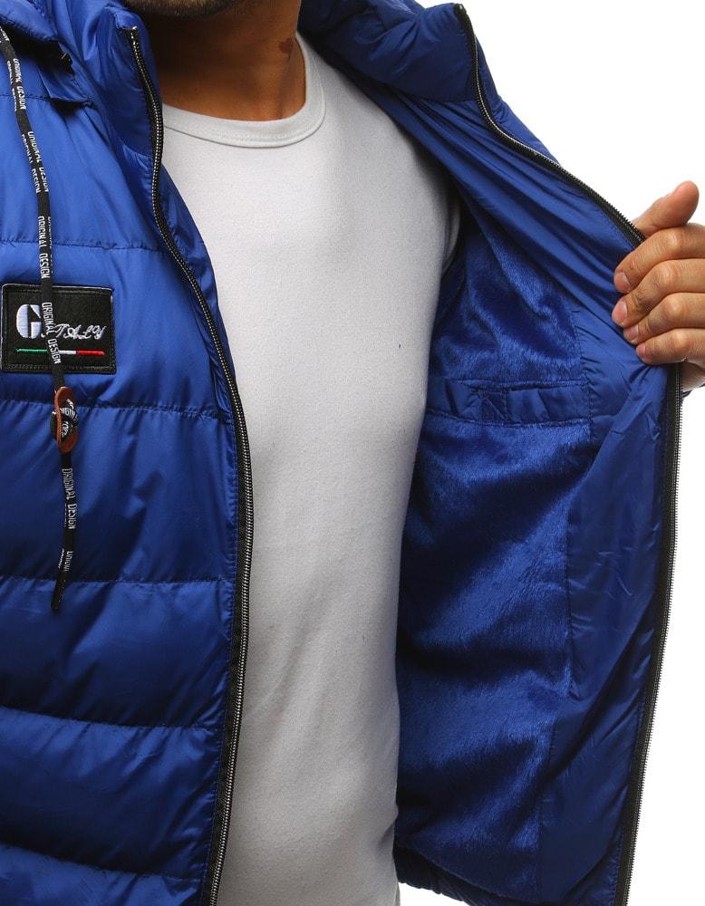 Siiuomo.it - Giacca invernale sportiva da uomo colore blu - Dstreet ... 099e3767c1b