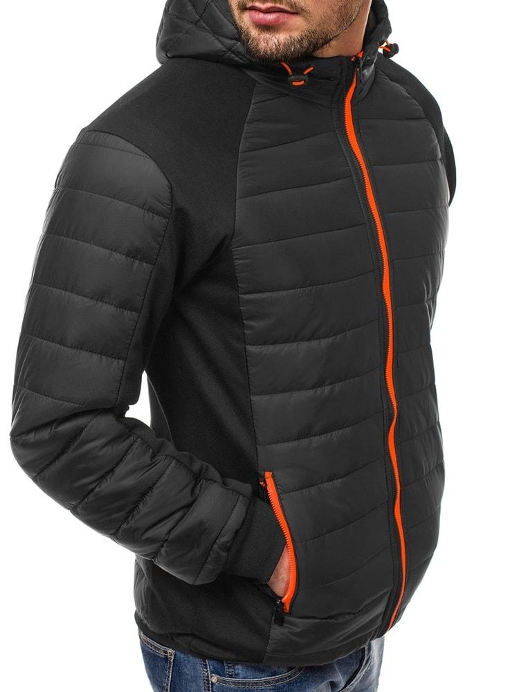 Siiuomo.it - Giubbotto uomo invernale alla moda colore nero OZONEE ... 4cf3d8d2e7b